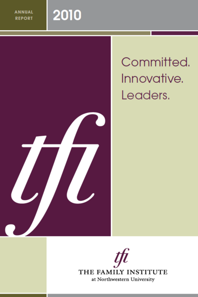 FY10 annual report cover