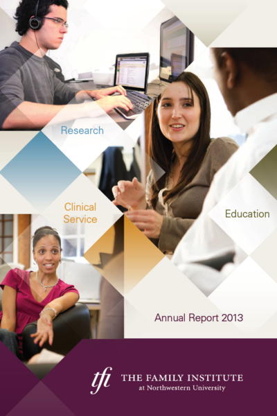 FY13 annual report cover